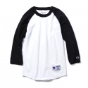 챔피온() [인기재입고] 17SS Champion Raglan Baseball T-shirts BLACK