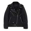 비바스튜디오(VIVASTUDIO) WOMENS LAMB SKIN RIDERS JACKET FA [BLACK]