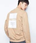 셔터(SHUTTER) SHUTTER COLORED SWEAT SHIRTS (BEIGE)