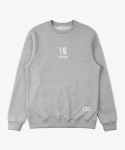 셔터(SHUTTER) SHUTTER COLORED SWEAT SHIRTS (GRAY)