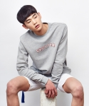 셔터(SHUTTER) SHUTTER SHTR SWEAT SHIRTS (GRAY)