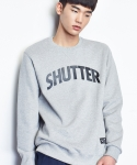 셔터(SHUTTER) SHUTTER 3M LOGO SWEAT SHIRTS (GRAY)