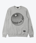 셔터(SHUTTER) SHUTTER SPHERE SWEAT SHIRTS (GRAY)