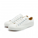 바타 헤리티지() [Bata Bullets] Tone on Tone Canvas Low (White)