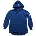 로맨틱크라운(ROMANTIC CROWN) [ROMANTICCROWN]BALLIN LONG HOODIE_BLUE