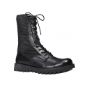 로스코 사막화  BLACK RIPPLE SOLE JUNGLE BOOTS