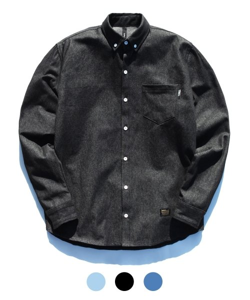제멋_[제멋]Motto denim shirts(0778)