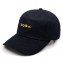 비블랙(BEBLACK) B.BLACK OLD SCHOOL BALLCAP NAVY