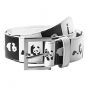 엔조이(ENJOI) [enjoi] MADNESS VINYL BELT (White)