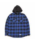 제로(XERO) Hooded Gingham Check Shirts