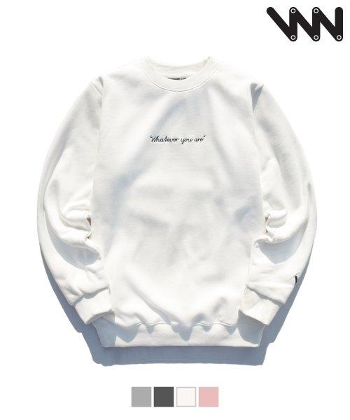더블유브이 프로젝트_[WV] Wv sweatshirts  UJMT0730