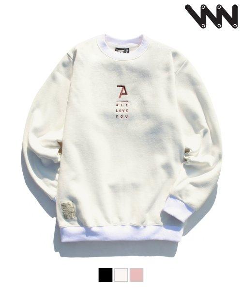 더블유브이 프로젝트_[WV] Loveyou sweatshirts  MJMT0720