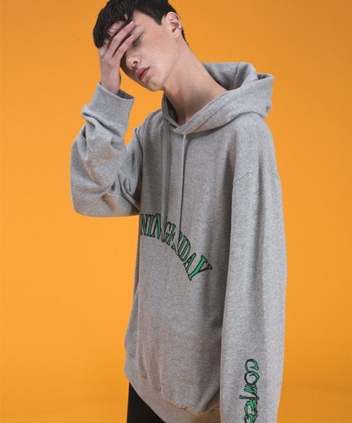 16 ss burning friday hood grey