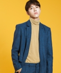 시에스타(SIESTA) LINE PATTERN COAT [BLUE]