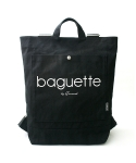SEWREAL BAGUETTE BACKPACK BLACK