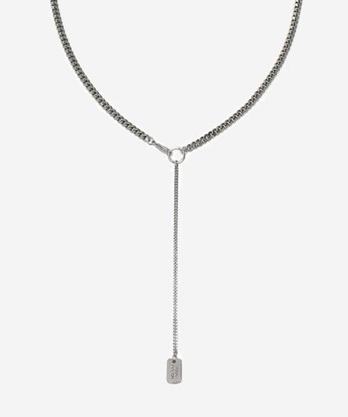 먼데이에디션_[먼데이에디션 맨즈] MENS two way chain necklace