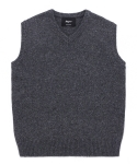 5g gray wool knit vest