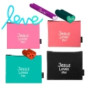 Jesus love me! pouch (4type)