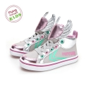 페이유에(FEIYUE) [FEIYUE 페이유에]DELTA KID / ANIMAL WINGS SILVER PINK / F30145T
