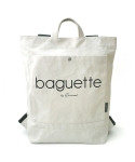 SEWREAL BAGUETTE BACKPACK IVORY