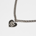 비터(VITTER) HEART PENDANT NECKLACE(6MM)