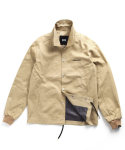 어반스터프(URBANSTOFF) USF COTTON COACH JACKET BEIGE