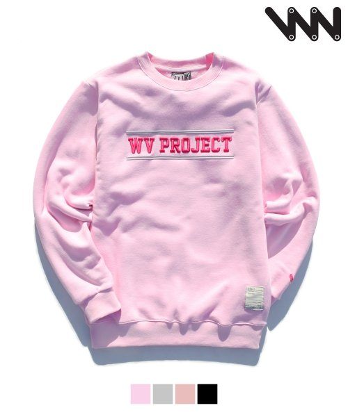 더블유브이 프로젝트_[WV] Two line sweatshirts  JJMT0716