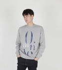 [MOHAN] MOTIVE SWEATSHIRT GREY