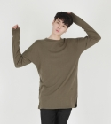 모한(MOHAN) [MOHAN] MENS LONG SLEEVE T-SHIRT KHAKI