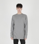 모한(MOHAN) [MOHAN] MENS LONG SLEEVE T-SHIRT GREY