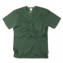 아웃스탠딩(OUTSTANDING) CREWNECK POCKET TEE [GREEN]