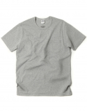 아웃스탠딩(OUTSTANDING) CREWNECK POCKET TEE [MELANGE GRAY]