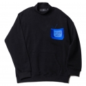 업스케일(UPSCALE) UPSCALE STUPID BOX SWEATSHIRTS BLACK