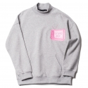업스케일(UPSCALE) UPSCALE STUPID BOX SWEATSHIRTS GRAY