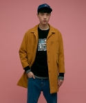 스컬프터(SCULPTOR) PRANK CANVAS COAT[MUSTARD]