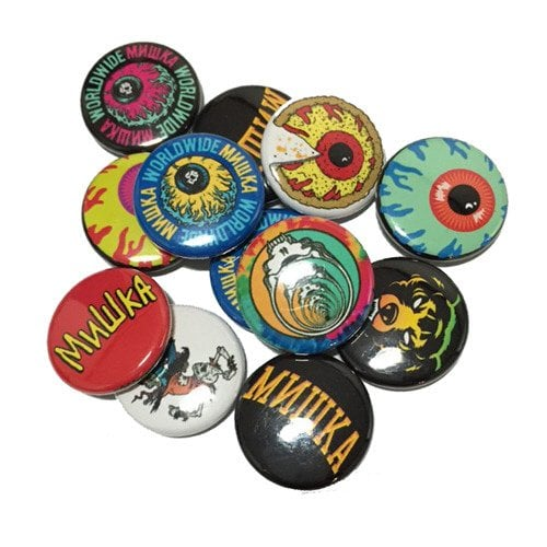 미시카(MISHKA) Assorted Pin Pack(Contains 12) Multi