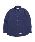제로(XERO) Pin Dot Indigo Shirts