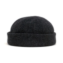 뉴욕 햇(NEW YORK HAT CO.) 7915 WOOL THUG CHARCOAL