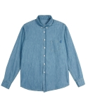 어반디타입(URBANDTYPE) Detail Denim Shirts_CL051