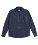 어반디타입(URBANDTYPE) Detail Denim Shirts_CL052
