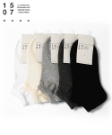 1507(1507) 5종류 4개선택 1507 MONO SNEAKERS SOCKS