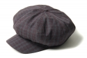 아웃스탠딩(OUTSTANDING) NEW ORLEANS NEWSBOY CAP [WINE]