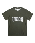 레이어 유니온(LAYER UNION) PATTERN UNION S/S TEE KHAKI