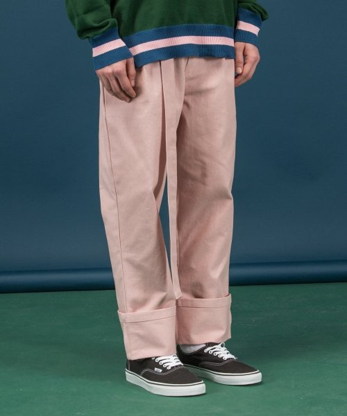 러브이즈트루(LUV IS TRUE) (UNISEX)SC D ring PANTS_PK