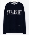 미나브(MINAV) [UNISEX]SWEAT NEED SWEATSHIRTS NAVY