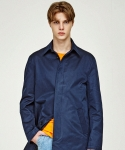 인사일런스(INSILENCE) MAC COAT (NAVY)