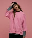스컬프터(SCULPTOR) REGAL RAGLAN SWEAT SHIRTS[PINK]