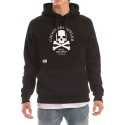크룩스앤캐슬(CROOKS & CASTLES) Knit Hooded Pullover - Skull Squadron (Black)