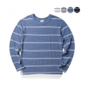 에이테일러(A-TAILOR) Layered stripe T-shirt