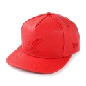 크룩스앤캐슬(CROOKS & CASTLES) Woven Strapback Cap - Maison C (True Red)